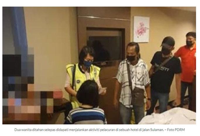 Sabah wechat pelacur Ibnu Hasyim:
